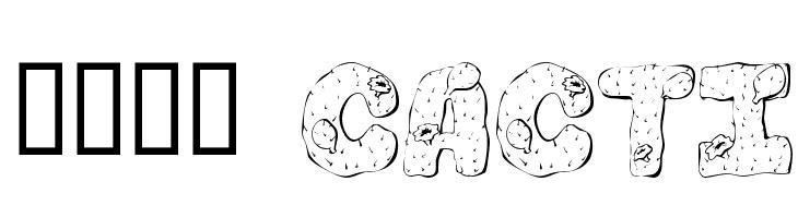 101! Cacti  les polices de caractères gratuit télécharger