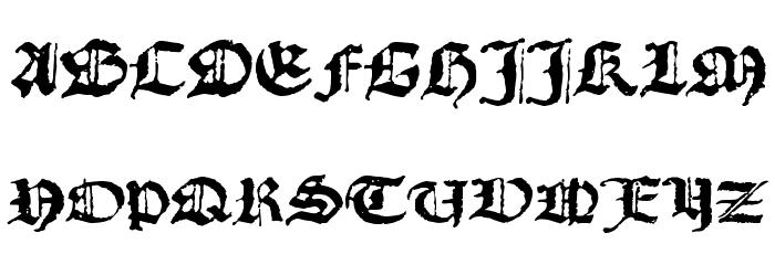 1492_Quadrata_lim Bold फ़ॉन्ट अपरकेस