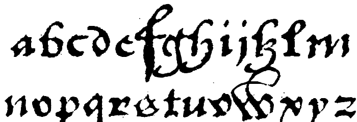 1742Frenchcivilite फ़ॉन्ट लोअरकेस
