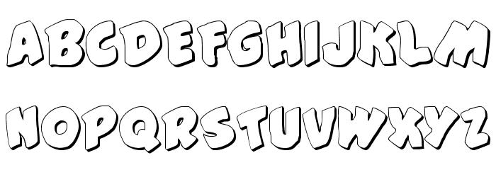 #44 Font Shadow फ़ॉन्ट अपरकेस