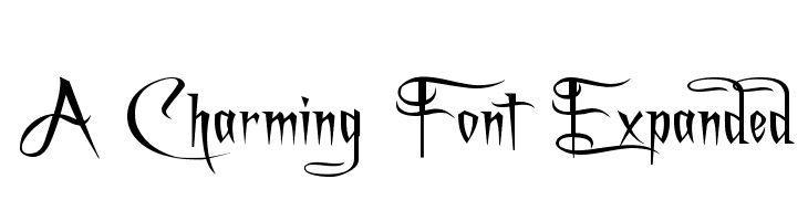 A Charming Font Expanded फ़ॉन्ट