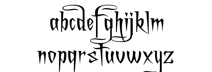 A Charming Font Expanded फ़ॉन्ट लोअरकेस