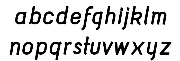 Acid Bold Italic फ़ॉन्ट लोअरकेस