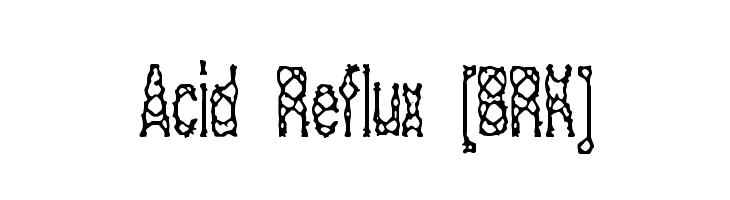 Acid Reflux [BRK]  免费字体下载