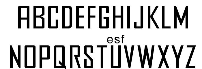 Agency फ़ॉन्ट लोअरकेस