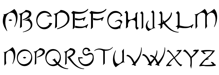 Akvaleir_regular फ़ॉन्ट अपरकेस