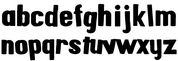 AlphaFridgeMagnets  फ़ॉन्ट लोअरकेस