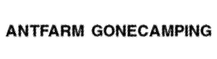 AntFarm GoneCamping  Free Fonts Download