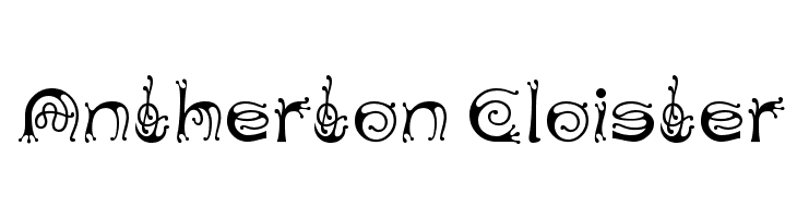Antherton Cloister Free Fonts Download