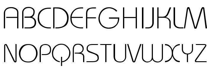 Bauhaus-Light-Light Fuentes MAYÚSCULAS