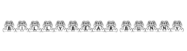 BillyBear Bunny Free Fonts Download