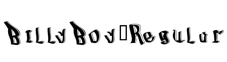 BillyBoy-Regular  les polices de caractères gratuit télécharger