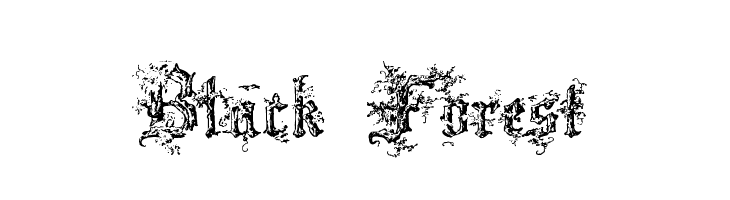 Black Forest Free Fonts Download