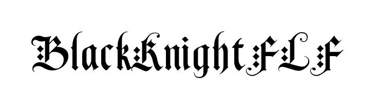 BlackKnightFLF  les polices de caractères gratuit télécharger