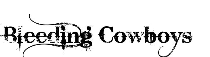Bleeding Cowboys  免费字体下载