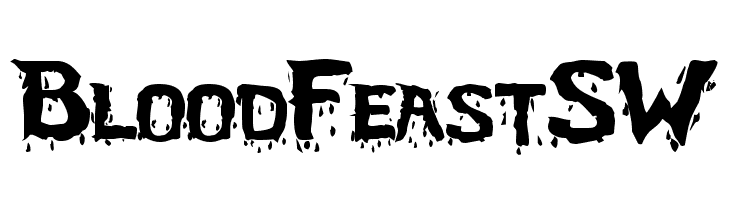 BloodFeastSW  Free Fonts Download