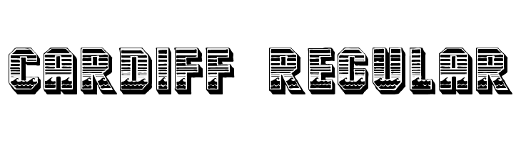 Cardiff Regular Free Fonts Download