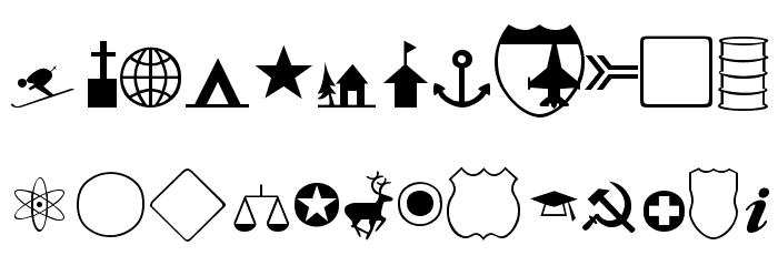 Carta-Normal Font LOWERCASE