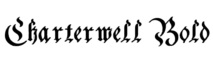 Charterwell Bold Free Fonts Download