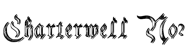 Charterwell No2 Free Fonts Download