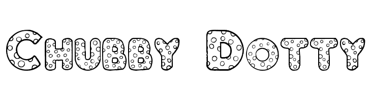Chubby Dotty Free Fonts Download