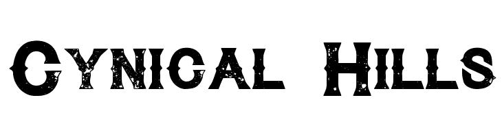 Cynical Hills  les polices de caractères gratuit télécharger