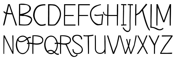 Deibi Font UPPERCASE