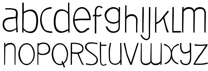Deibi Font LOWERCASE