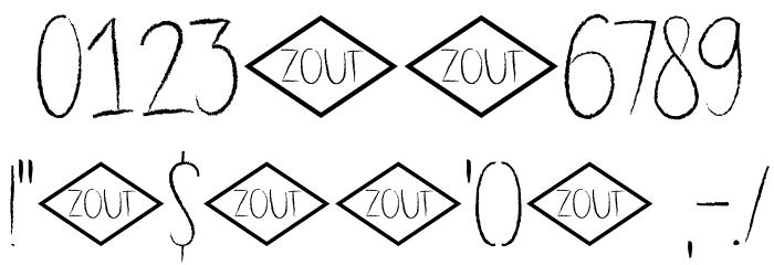 DK Dubbel Zout Regular 字体 其它煤焦