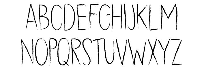 DK Dubbel Zout Regular 字体 小写