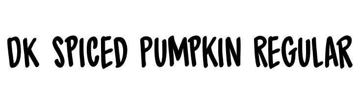 DK Spiced Pumpkin Regular  les polices de caractères gratuit télécharger