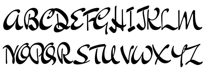 Dr Sugiyama Regular Font UPPERCASE