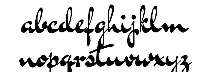 Dr Sugiyama Regular Font LOWERCASE
