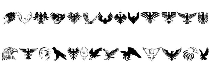 Eagle फ़ॉन्ट लोअरकेस