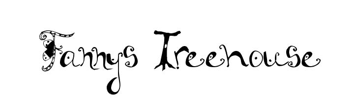 Fannys Treehouse  les polices de caractères gratuit télécharger