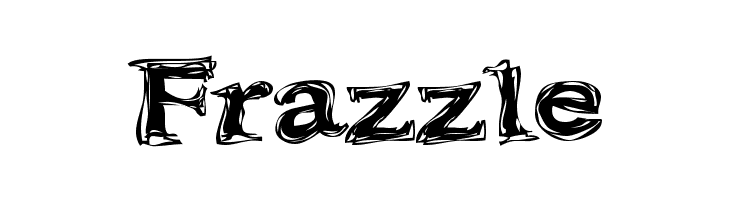Frazzle  Free Fonts Download