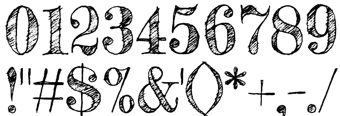 Fredericka the Great Font OTHER CHARS