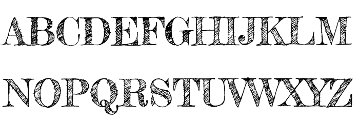 Fredericka the Great Font UPPERCASE