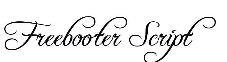 Freebooter Script Free Fonts Download