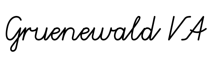 Gruenewald VA Free Fonts Download
