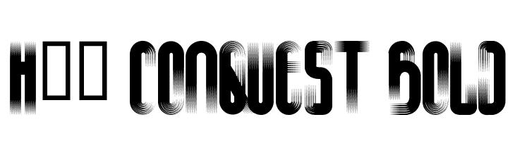 H74 Conquest Bold  नि: शुल्क फ़ॉन्ट्स डाउनलोड