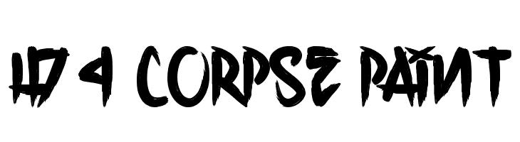 H74 Corpse Paint  नि: शुल्क फ़ॉन्ट्स डाउनलोड