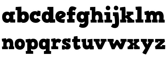 HVD Comic Serif Pro Font LOWERCASE