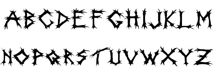 Incantation Font UPPERCASE