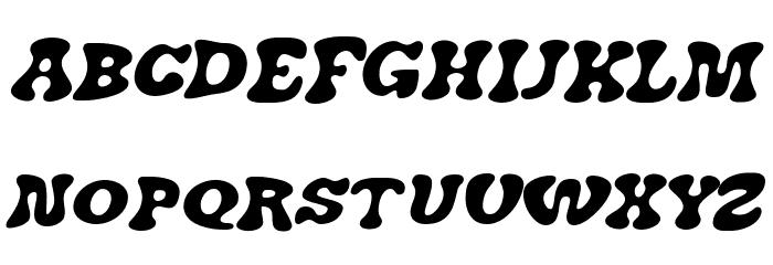 J. Airplane swash Italic फ़ॉन्ट अपरकेस