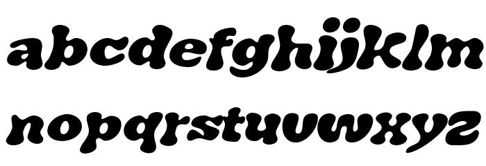 J. Airplane swash Italic फ़ॉन्ट लोअरकेस