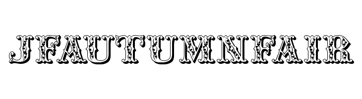 JFAutumnFair Free Fonts Download