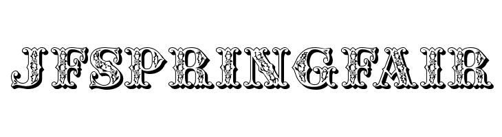 JFSpringFair  Free Fonts Download