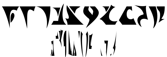 Klingon Font OTHER CHARS