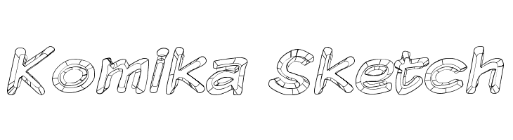 Komika Sketch Free Fonts Download